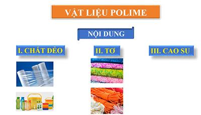 Bài 14 : Vật liệu polime