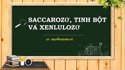 Bài 6 : Saccarozơ , tinh bột và xenlulozơ
